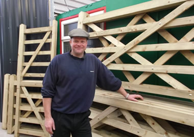 Neil Vaughan, founder and owner of West Country Fencing Supplies